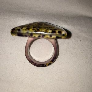 Jessica Simpson Jewelry - Gold  leopard ring